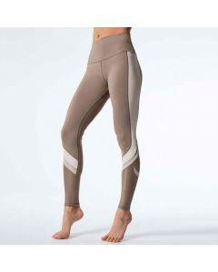 High waist Two Tone Quick Dry Yoga Pants