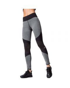 Black and Grey mesh Yoga Pants